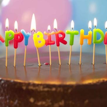 Milestone Birthday – 65th plus